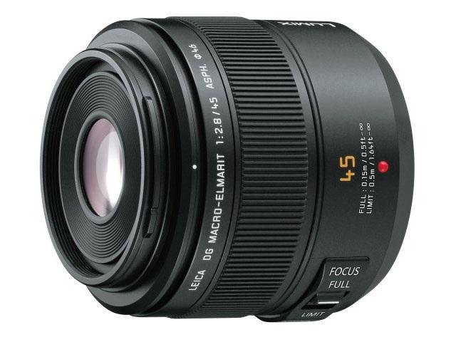 パナソニック Panasonic デジタル一眼カメラ用交換レンズ(マクロレンズ) H-ES045