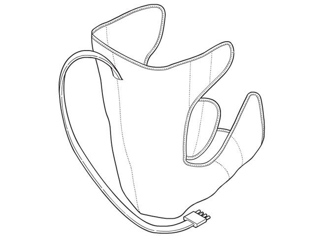 パナソニック Panasonic レッグリフレ用左足用アタッチメント(シルバー) EWNA84S4717