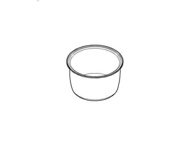 パナソニック Panasonic 炊飯器用内釜(内なべ) ARE50-F54