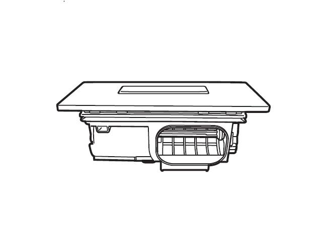 パナソニック 純正品 部品 交換用 AXW2XK-7WZ5 パナソニック Panasonic 洗濯機 乾燥フィルター(クリスタルホワイト) AXW2XK-7WZ5