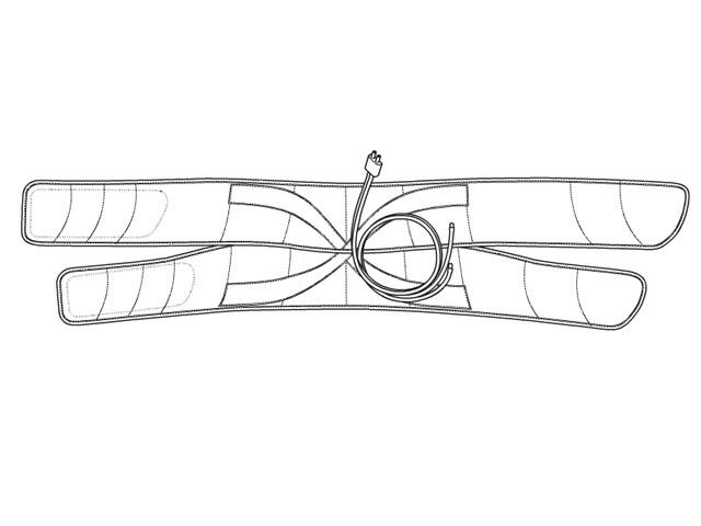 パナソニック Panasonic 骨盤おしりリフレ用ベルト(ブラック) EWNA75K4707