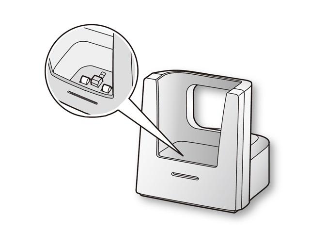 パナソニック 純正品 部品 超人気 交換用 Panasonic PNVLW607C 送料0円 ワイヤレスモニター子機用充電台