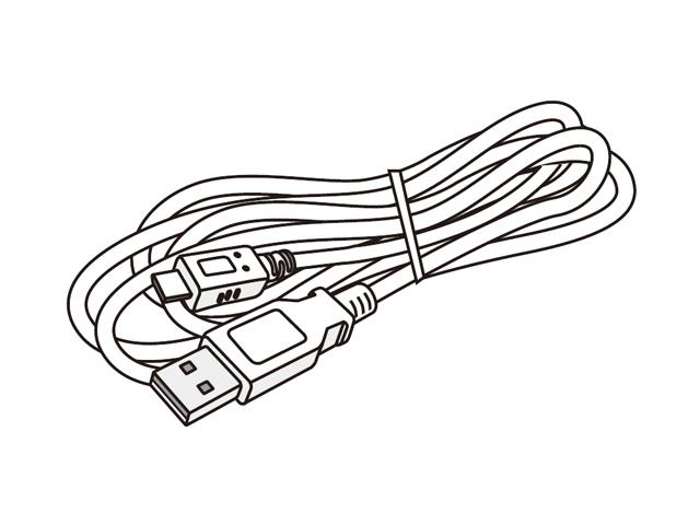 パナソニック 純正品 部品 交換用 TPBAA167 白 ワイヤレススピーカー用DCケーブル Panasonic 2m 激安特価品 贈与