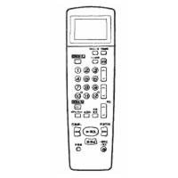 シャープ SHARP ビデオデッキ用リモコン 0036381109