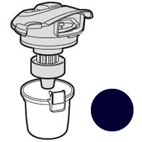 入荷予定 シャープ 安値 純正品 部品 交換用 SHARP ブラック系 掃除機用ダストカップセット 2171370375