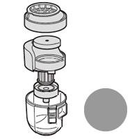 シャープ 純正品 部品 交換用 引き出物 2171370385 即納 シルバー系 掃除機用ダストカップセット SHARP