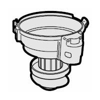 シャープ 純正品 部品 交換用 SHARP 掃除機用カップカバー 筒型フィルター付き 迅速な対応で商品をお届け致します 大決算セール 2172210460
