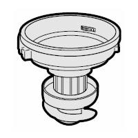 シャープ 純正品 部品 交換用 筒型フィルター付き 掃除機用カップカバー 優先配送 SHARP 人気の製品 2173440016