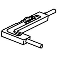 シャープ 純正 部品 交換 2803100001 春の新作 SHARP NEW 加湿空気清浄機用ユニット清掃ブラシ