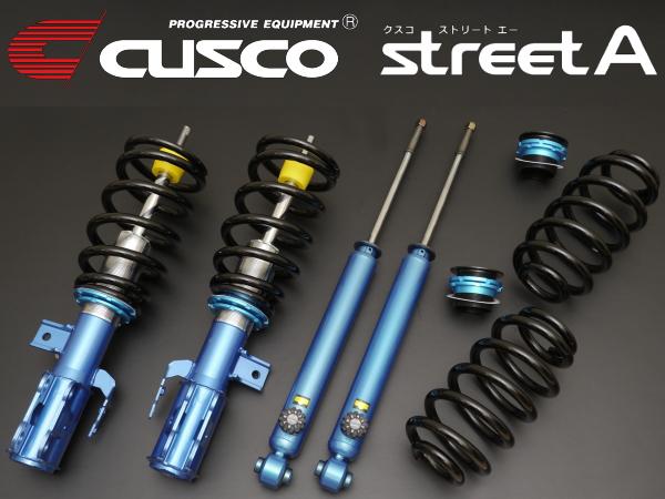CUSCO street A車高調整キット アッパーマウント無BKEPアクセラスポーツ 2WD 03/10~09/6