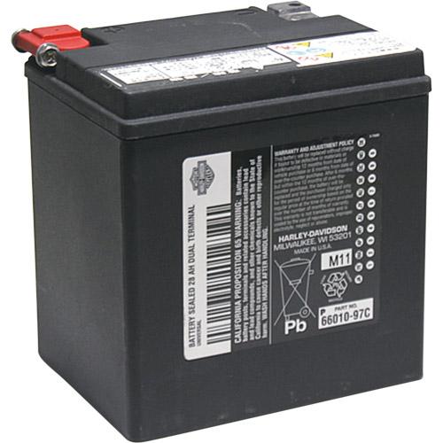ハーレージャパンH-DAGM標準装備バッテリー(対応純正品番:66010-97C)【返品不可商品】