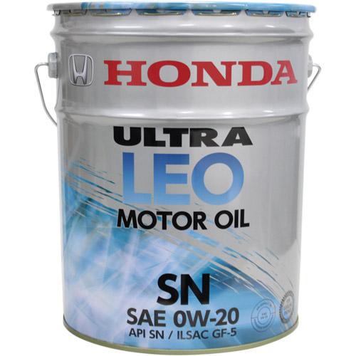 登場大人気アイテム - 鉱物油 0821799977 純正部品 ウルトラLEO 0W-20 ホンダ 特価 HONDA SN 20L 1缶