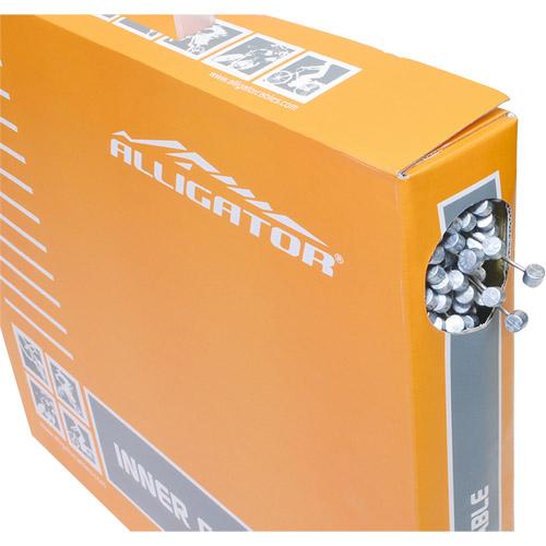 ALLIGATOR[アリゲーター] ATB/MTBブレーキ用インナーケーブルBOX シルバー 1箱[100本入り] メーカー品番:LY-BSTSK761617