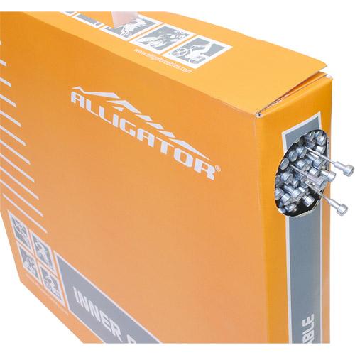 取寄 LY-BPT6101617 ROADブレーキ用インナーケーブル(P.T.F.Eコート)BOX ブラック ALLIGATOR(アリゲーター) ブラック 1箱(100本入)