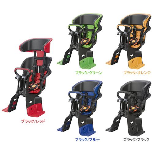 OGK(オージーケー技研) FBC-011DX3 ヘッドレスト付コンフォート前子供のせ ブラック/ブルー 1個 メーカー品番:FBC-011DX3