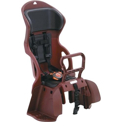 OGK(オージーケー技研) ヘッドレスト付カジュアルうしろ子供のせ 紅・黒 1個 メーカー品番:RBC-015DX 適合車種:22~27型の後ろキャリヤを装着したシティ車