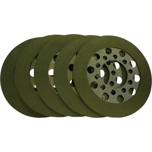 取寄 7100-1010 クラッチフリクションプレート ケブラー 5枚セット GUTSCHROME(ガッツクローム) 1セット