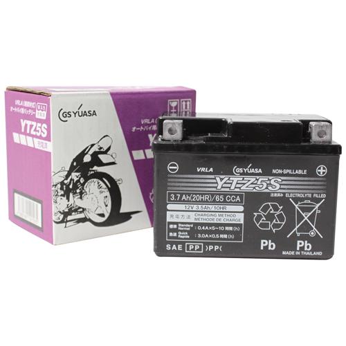 YTZ5S GSユアサ 液入充電済 MFバッテリー グロム125対応