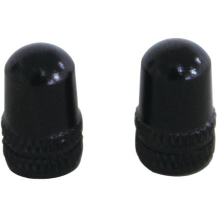 ALLIGATOR 72169 アルミバルブキャップ 米式 ブラック 1セット(2個入)