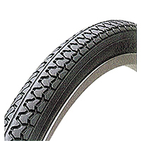 ミリオン 自転車タイヤ C1074 24×1 3/8 WO ブラック 1ペア(タイヤ2本、チューブ2本、リムゴム2本)