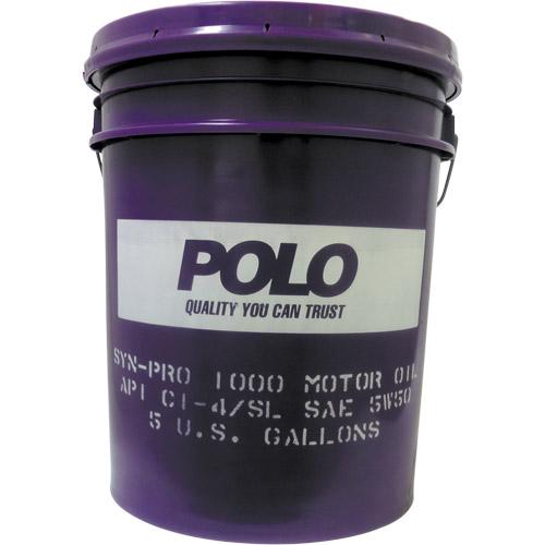 POLO SYN-PRO1000 CI-4/SL 5W-50 メーカー品番:AE12GV 1缶(18.9L)