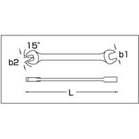 取寄 10A/11 両口スパナセット(インチ) 10A/11 STAHLWILLE(スタビレー) 1セット