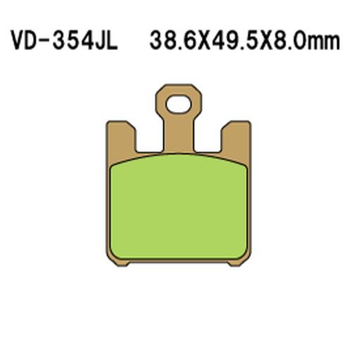 取寄 VD-354RJL VD-354RJL シンタードメタルレーシングパッド Vesrah(べスラ) 1セット