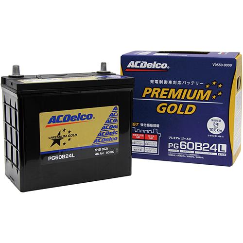 - 卸直営 取寄 PG60B24L ACデルコ 1個 プレミアムゴールド 数量限定 ACDelco