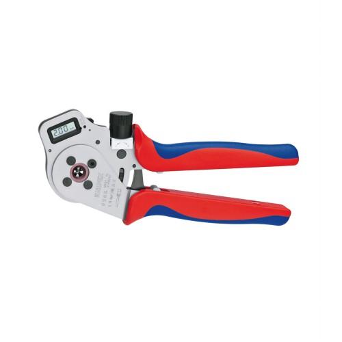 取寄 9752-65DG 9752-65DG デジタル圧着ペンチ KNIPEX(クニペックス) 1個
