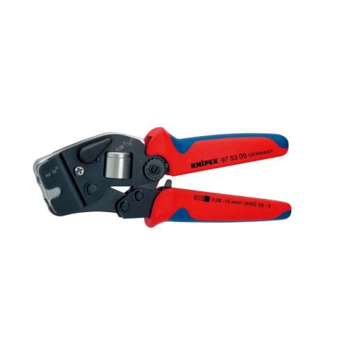 9753-09 9753-09 ワイヤーエンドスリーブ圧着ペンチ (SB) KNIPEX(クニペックス) 全長:190mm 1個