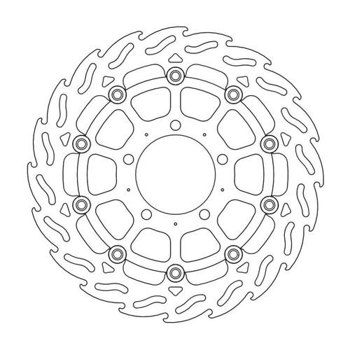 MM112047SB MM112047SB フロントフレイムステンローター ACTIVE ディスク径:φ300 1枚