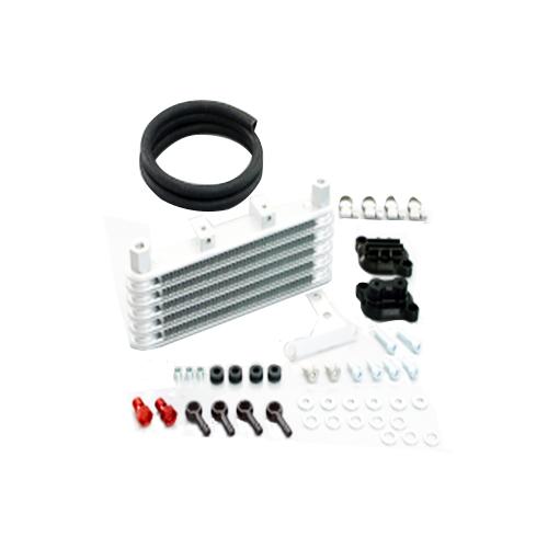 キタコ NEWスーパーオイルクーラーKIT(5段・アップスタイル)ブラック メーカー品番:360-1432920 1セット