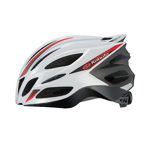 ヘルメット TRANFI トランフィ ホワイトレッド L/XL OGK[オージーケーカブト]