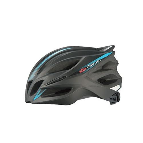 ヘルメット TRANFI トランフィ マットブラックブルー S/M OGK[オージーケーカブト]