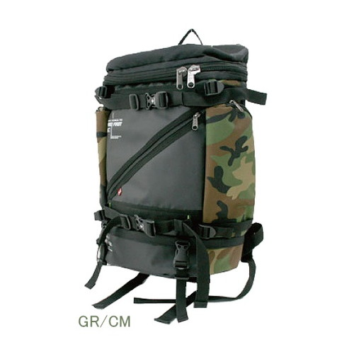 FIRE FIRST FFTG-210 FF ラウンドリュック GR/CM アークネスジャパン 横280×縦490×マチ190mm 1個