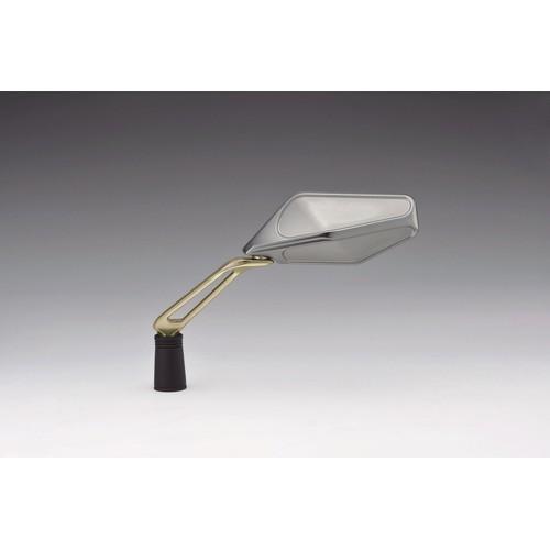 キジマ ミラー EURO-01 シルバー/Sゴールド L/Rセット メーカー品番:203-8071 1セット