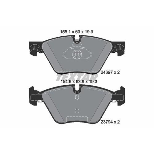 ブレーキパッド 2469781 2469781 ブレーキパッド Textar