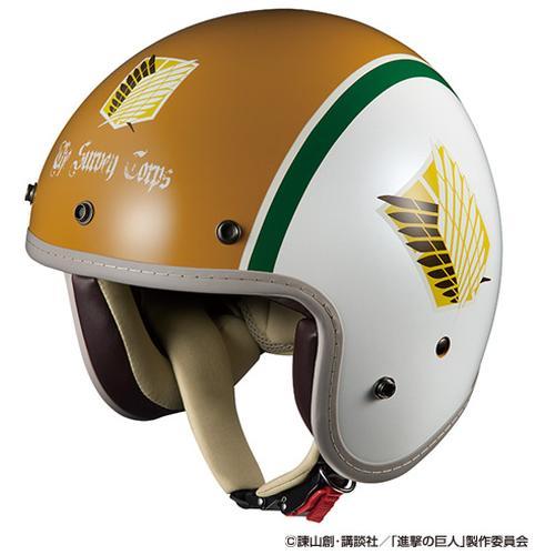 ヘルメット BOB-Z AOT 進撃の巨人 調査兵団 OGK[オージーケーカブト]