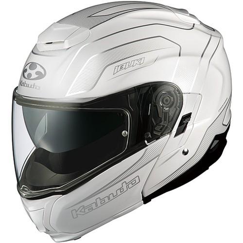 ヘルメット IBUKI ENVOY パールホワイト L OGK[オージーケーカブト]