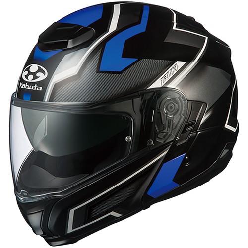 ヘルメット IBUKI DARK フラットブラックブルー XL OGK[オージーケーカブト]