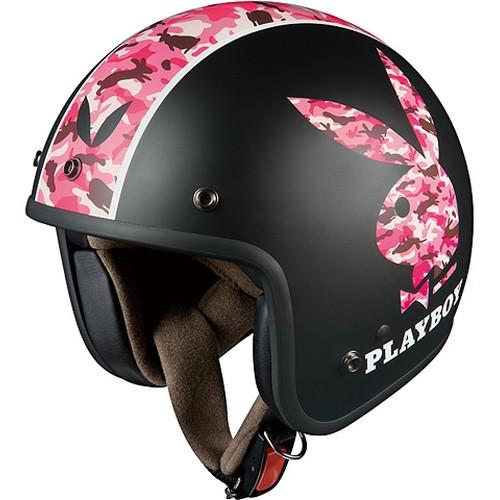 ヘルメット KL-mini PLAY BOY フラットブラック-5 OGK[オージーケーカブト]