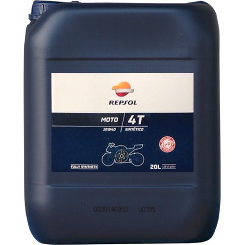 取寄 全化学合成油 007183 モト・シンセティック4T 10W40 20L REPSOL(レプソル) 全化学合成油 1本