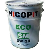 取寄 部分合成油 エンジンオイル 5W-30 SM/GF-4 20L NICOPIT(ニコピット) 部分合成油 1缶(20L)