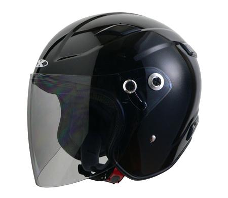 ヘルメット RAZZO 3 RAZZOIII エクストリーム ジェットヘルメット ブラック M リード工業