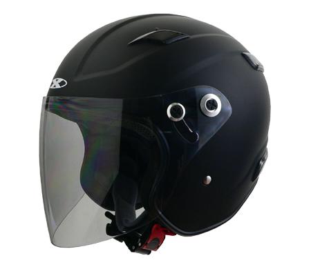 ヘルメット RAZZO 3 RAZZOIII エクストリーム ジェットヘルメット マットブラック L リード工業
