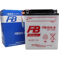 センサー付YB12A-AK互換 FB12A-A 古河電池 液別タイプ(開放型) バッテリー FX400R/GPZ400/Z400GP対応