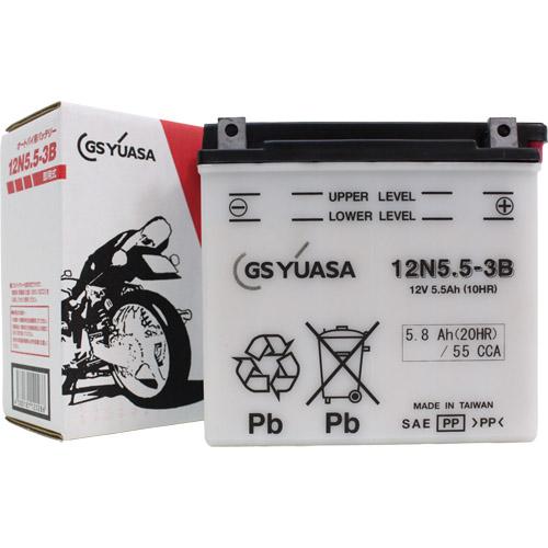 12N5.5-3B GSユアサ 液別タイプ(開放型) バッテリー RZ250対応