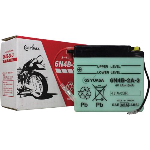 - 6N4B-2A-3 GSユアサ 液別タイプ 開放型 バッテリー DT90 TY125 DT50 DT125 トレール AG200対応 訳あり品送料無料 驚きの値段で