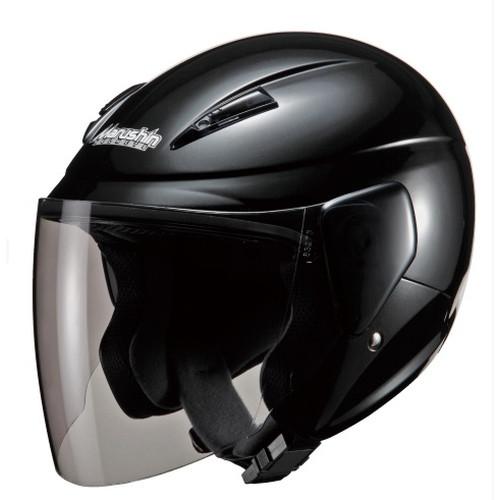 - マルシン バイク ジェットヘルメット セミジェットヘルメット 贈り物 フリー ブラックメタリック 00005203 M-520 期間限定お試し価格