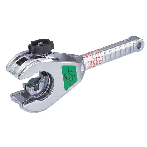 新しい 1個:パーツダイレクト店 PCRT2-35 PCRT2-35 取寄 銅・樹脂管用ラチェットパイプカッター KTC-DIY・工具